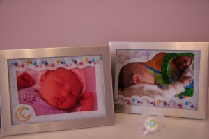 Embroidered Mother's Day Photos